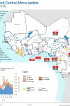 Cholera: Situation in Central and West Africa - week S46 of 2016